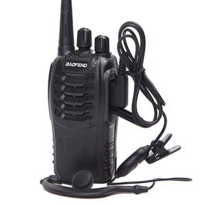 Image 4 - 2 STUKS Baofeng BF 888S Walkie Talkie bf 888 s 5 W Two way radio Draagbare CB Radio UHF 400  470 MHz 16CH Professionele Handige Radio