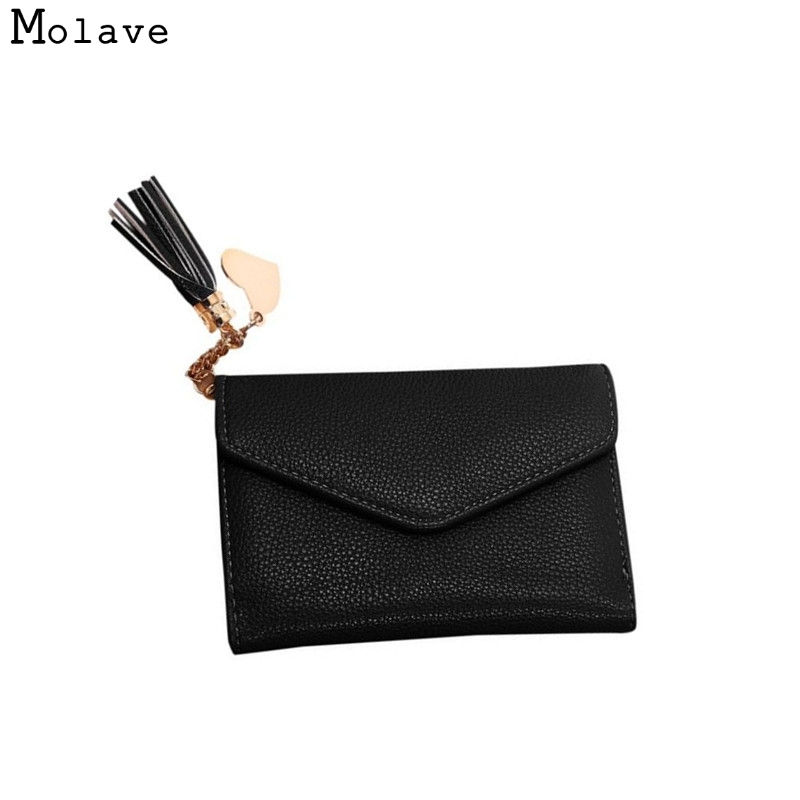 Naivety New Retro Zipper Wallet Card Purse PU Leather Short Women Cute Heart Tassel Monedero 11S60928 drop shipping wholesale 10 set propeller blade for hubsan x4 h502s h502e quadcopter rc drone spare parts