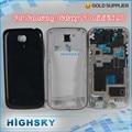 Nuevo de reemplazo original para samsung galaxy s4 mini i9190 i9195 accesorios tapa de la carcasa completa negro y blanco 1 unidades el envío libre