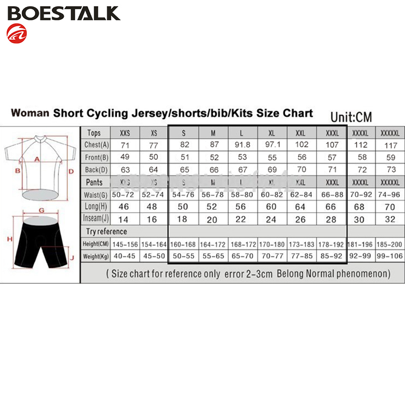 Été 2019 à manches courtes femmes cyclisme uniforme costumes femme vélo vêtements Kit vtt vêtements vélo Jersey Gel Pad bavette Shorts ensembles - 6
