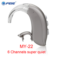 2018 technology innovation medical ear machine hearing aid RIC sound amplifier hearing machine free shipping MY 22
