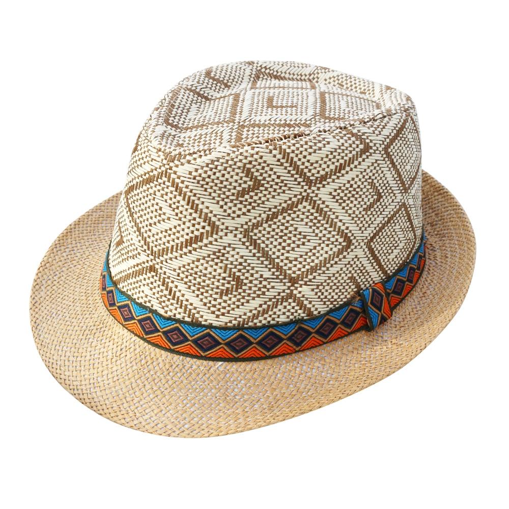 LNPBD 2018 verano mujeres hombres paja sombrero elegante reina ... be5e3cea9ae