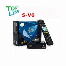 S-V6 ANEWKODI Original Mini Receptor de Satélite HD V6 S Apoyo CCCAMD Newcamd WEB TV USB Wifi 3G Llave Biss Youporn Shiping Libre