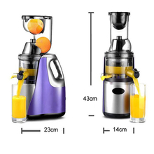 GERMAN Technology Large Mouth Slow Juicer