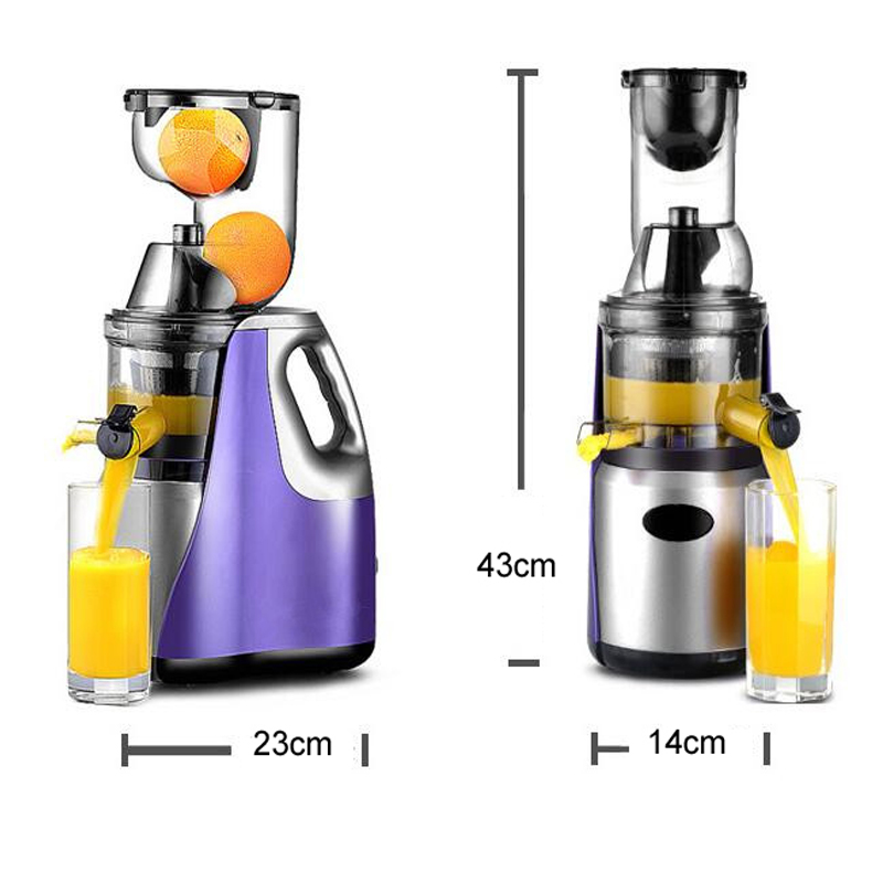 Slow Juicer Technology : GERMAN Technology Large Mouth Slow Juicer