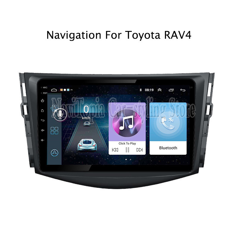 ECTWODVD 10.1inch Android 8.1 Car Radio GPS Navigation Multimedia Stereo DVD Player for Toyota RAV4 2007 2008 2009 2010 2011ECTWODVD 10.1inch Android 8.1 Car Radio GPS Navigation Multimedia Stereo DVD Player for Toyota RAV4 2007 2008 2009 2010 2011