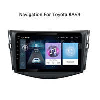 ECTWODVD 10.1inch Android 8.1 Car Radio GPS Navigation Multimedia Stereo DVD Player for Toyota RAV4 2007 2008 2009 2010 2011