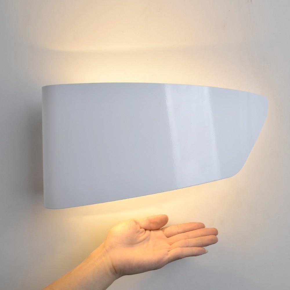 personality brief modern wall light white diy warm lights wall sconce loft aisle bedroom lighting lustre cheap wall lighting