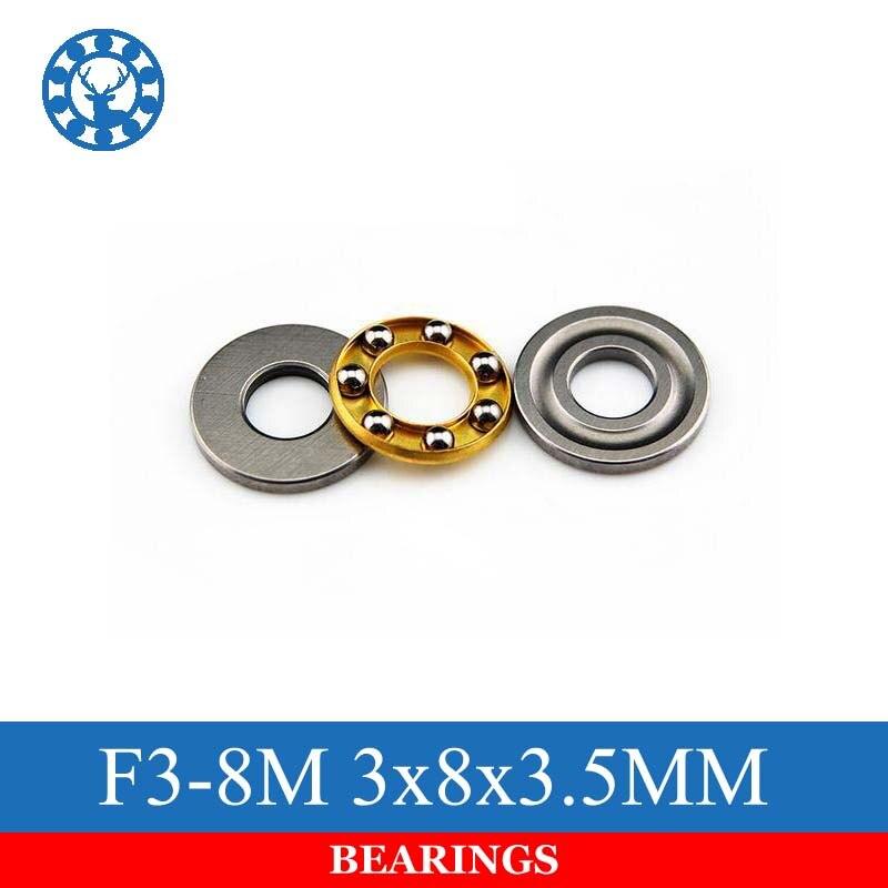 2pcs Axial Butée à Billes F3-8M 3 mm*8 mm*3.5 mm 3 × 8 × 3.5 mm pour RC Modèle