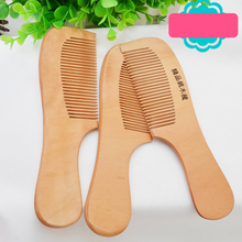 1Pcs Safety Soft Wooden NewBorn Baby Hair Brush Set Infant Comb Grooming Shower Design