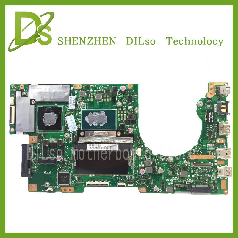 For ASUS K501UX K501UB laptop motherboard K501UX mainboard rev2.0 i5 cpu with Graphics card 100% tested brand new pbl80 la 7441p rev 2 0 mainboard for asus k93sv x93sv x93s laptop motherboard with nvidia gt540m n12p gs a1 video card