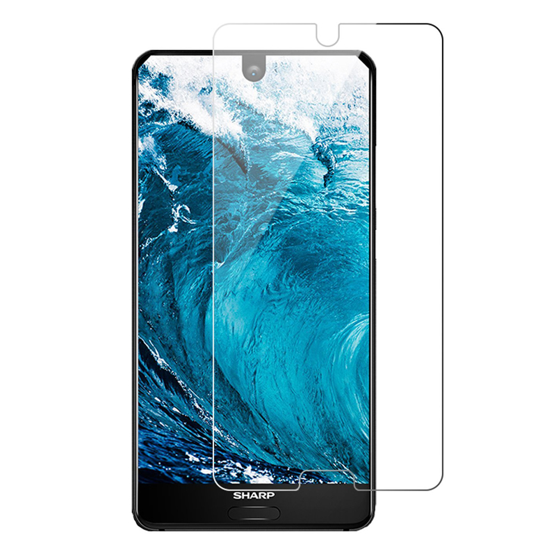 2.5D 9H High Quality S2 Tempered Glass Screen Protective glass For Sharp Protector aquos protective film