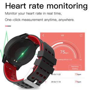 Image 4 - スポーツスマート腕時計男性女性血圧防水アクティビティフィットネストラッカー心拍数モニタースマートウォッチandroid ios