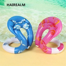 0 34mm Thick Inflatable Swim Arm Rings Pool font b Toys b font Baby Float Circle