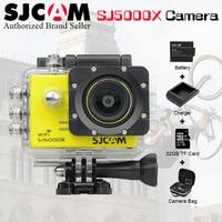 2.0 4 К SJCAM SJ 5000 серии SJ5000X Elite Wi Fi ntk96660 Мини гироскопа 30 Водонепроницаемый Спорт действий Cam SJ cam DVR + Интимные аксессуары вариант