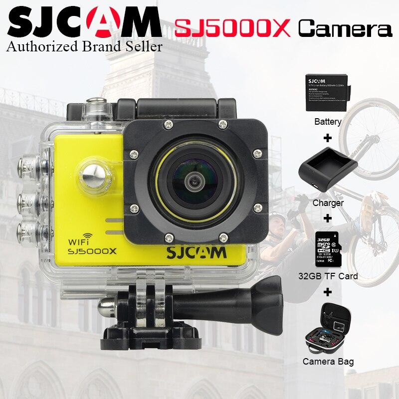 2.0 4K SJCAM Sj 5000 Series SJ5000X Elite WiFi NTK96660 Mini Gyro 30 Waterproof Sports Action Cam Sj Cam DVR+Accessories Option ...
