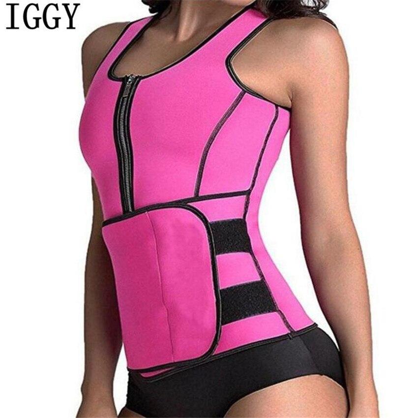 e16846f844 NEW Neoprene Sauna Vest Body Shaper Slimming Waist Trainer Hot Shaper  Fashion Workout Shapewear Adjustable Sweat