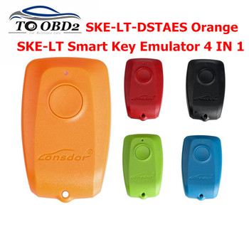 Lonsdor SKE-LT-DSTAES Orange and SKE-LT Smart Key Emulator 4 IN 1 for Toyota & for Lexus Chip 39 (128bit) Smart Key Lost via OBD