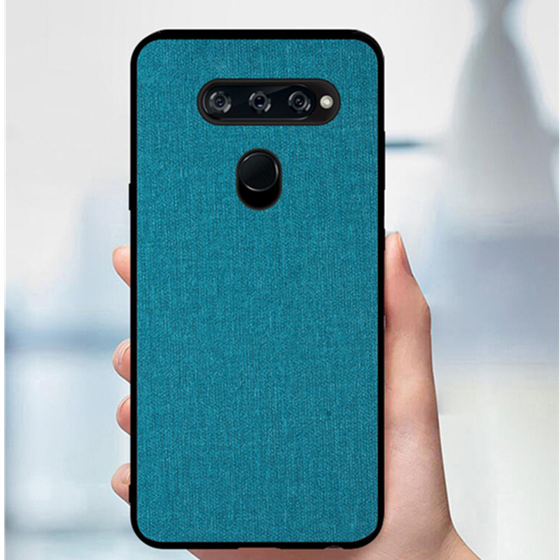 445053142748 KEZiHOME Case for LG G6 G7 G8 G8s ThinQ Luxury Cloth Texture Soft ...