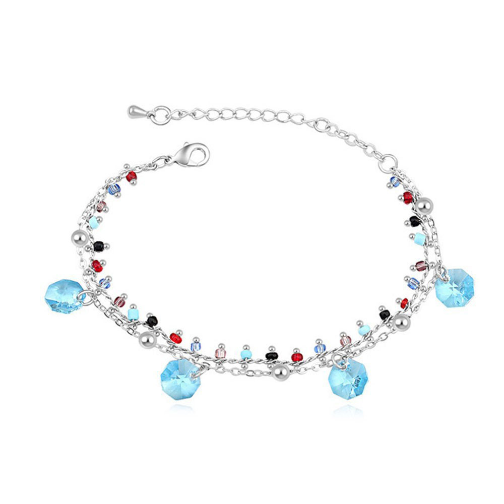2016 hot sale super charming bracelet with crystals from swarovski good for Mother's day Christmas mother's day gift