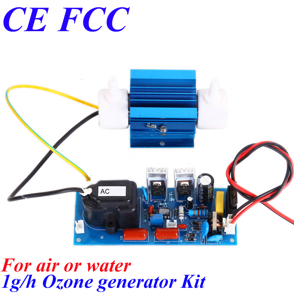 CE EMC LVD FCC 1g/h high quality water air sterilizer ozonizer ce emc lvd fcc ozonizer for industrial water treatment