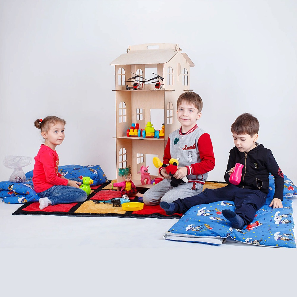 Dolls Home Toys House DIY Painting Board Education Toy