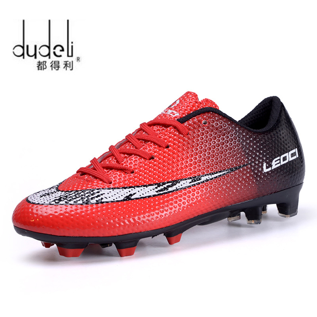 f1fd48f79ba DUDELI Football Shoes Men Soles Anti Slip Professional Training Sneakers  Sports Soccer Shoes Cheap Youth Football Training Shoes