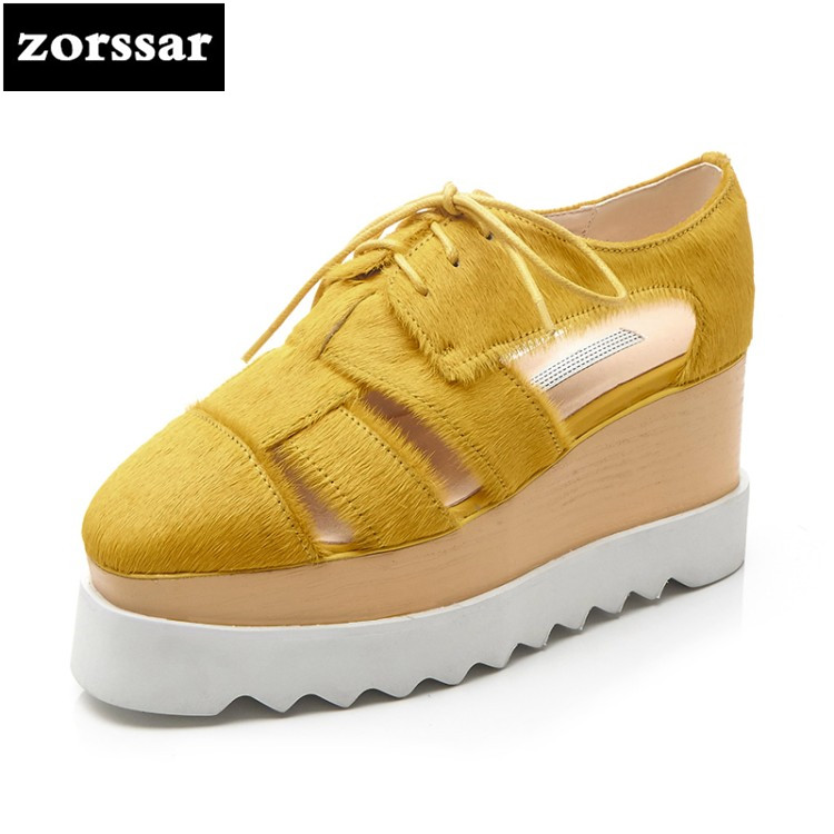 {Zorssar} Brand 2018 fashion Creepers shoes woman heels Casual Wedges High heels pumps sandals shoes women Platform shoes summer zorssar brand 2018 new womens creepers shoes heels casual wedges high heels pumps shoes fashion suede women platform shoes