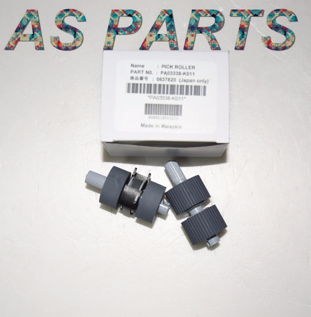 Pick Roller Brake Roller PA03338-K011 PA03576-K010 for Fujitsu fi-6670 fi-6770 fi-6750 fi-6750s fi-5750C fi-5650C fi-5750 pa03656 e958 pa03656 e976 for fujitsu ix500 pick roller and brake roller assy