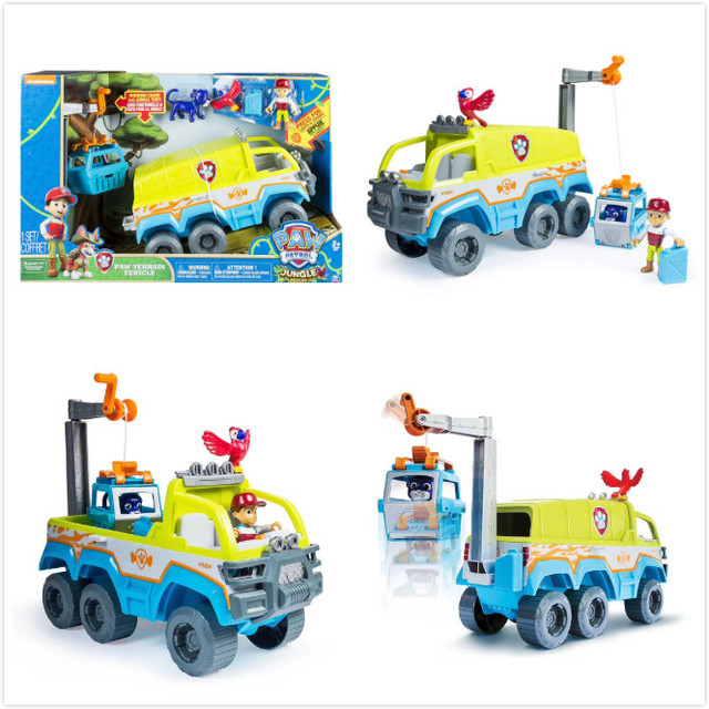 2019 NEW Arrival Genuine Paw Patrol Paw Terrain Vehicle Turn On the Lights And Sounds With The Push Of a Button children's toy