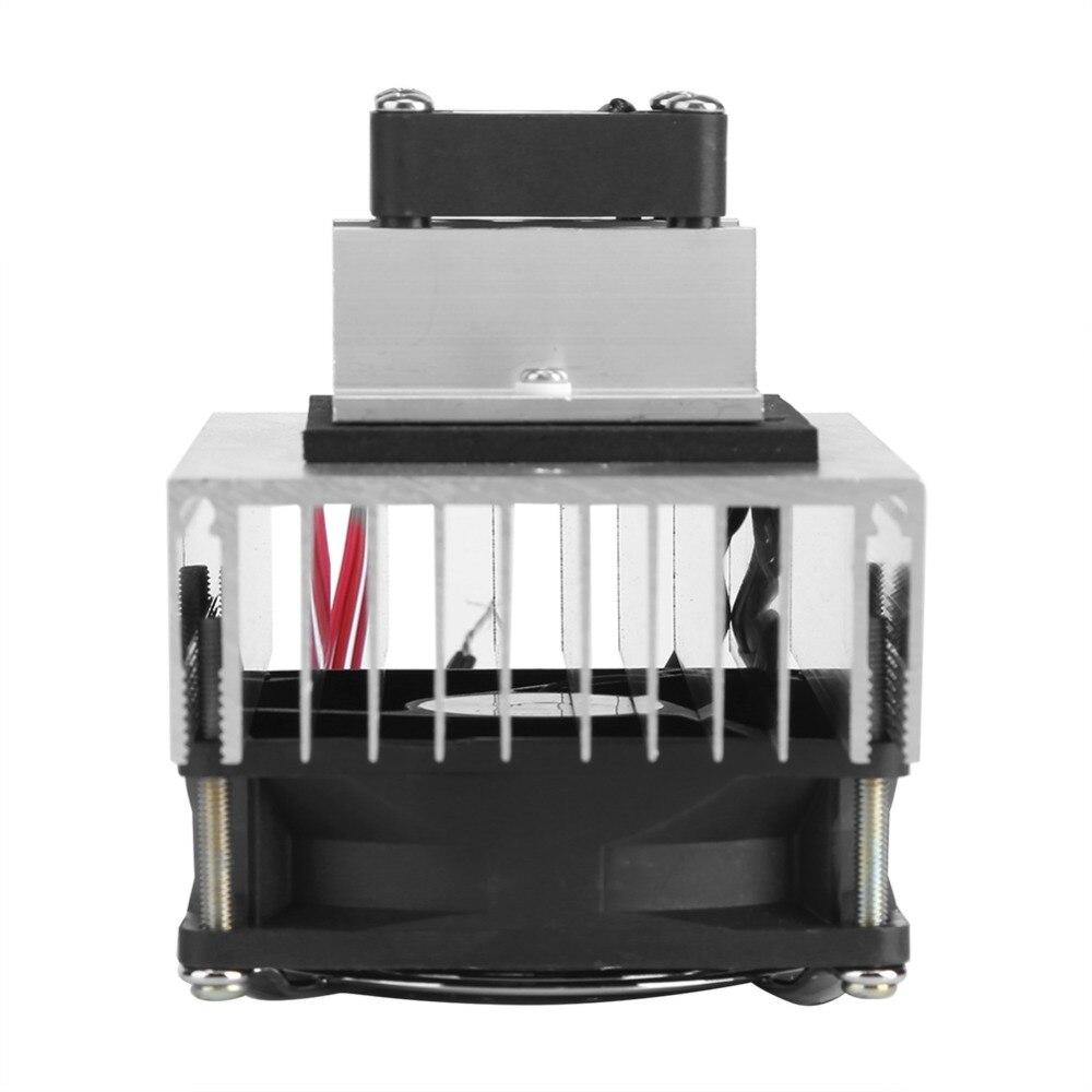 Acheter D'origine DIY Kit Semi conducteurs Thermoélectrique Peltier Réfrigération Système De Refroidissement Mini Climatiseur DC 12 v Livraison Gratuite de Pièces de réfrigérateur fiable fournisseurs
