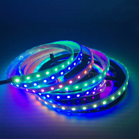 50M Addressable WS2811 Smart Pixel Led Strip DC12V 30/48/60leds/m full color WS2811 IC RGB led light Tape