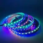 DHL shpping 50M 2811 Pixels Programmeerbare Individuele Adresseerbare LED Strip licht WS2811 5050 RGB 12V Black LED Tape lam - 1