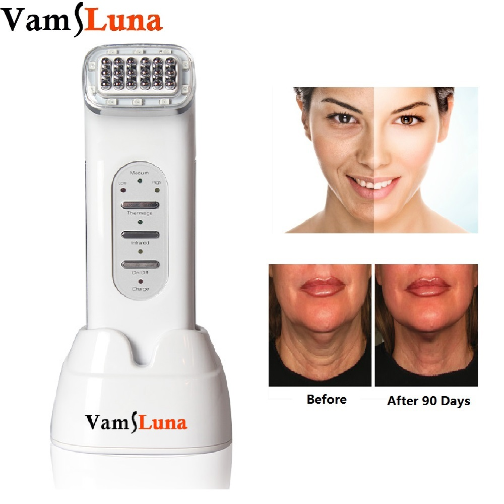 VamsLuna Thermage Facial RF Radio Frequency For Lifting Face, Lift Body SKin, Wrinkle Removal, Skin Tightening Beauty Care wire