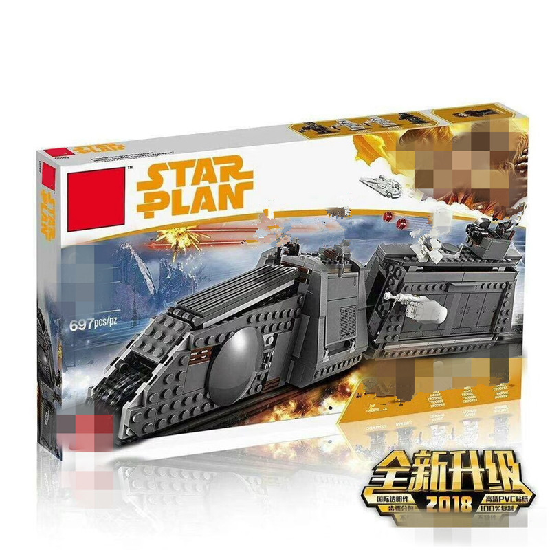 2019 New Compatible  Star Plan Wars The Imperial Conveyex Transport Set Blocks Bricks Kids Toys For Christmas