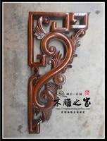 Die neue Dongyang holzschnitzerei antiken holz Tempel geschnitzten konsolen hause gun c. blume partition lintel abstrahlwinkel