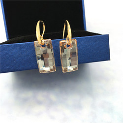 2018 spring Jewelry with crystal from SWAROVSKI GSHA AntIQUE Austrian Dangle Earrings Statement Holiday Gifts for female Friend