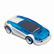 New Green Power Toys Salt & solar powered small moving car solar science toy Educational toys for children,dual power car