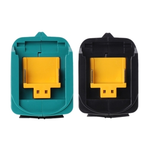 Image 5 - Conversor de adaptador de carregamento de energia usb para makita adp05 bl1815 bl1830 bl1840 bl1850 1415 14.4 18v li ion bateria preto