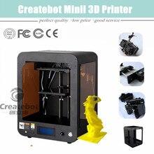 2015 New Version Createbot Desktop Mini 3D Printer 150 150 220mm Build Size Favorable Price and