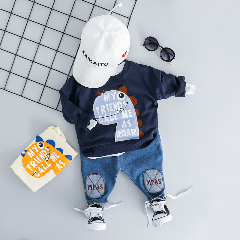 Boy Girl Casual Clothes Set 2019 Newest Spring For Toddler Letter Long Sleeve T shirt + Pants Outfit 1 2 3 4 YearsBoy Girl Casual Clothes Set 2019 Newest Spring For Toddler Letter Long Sleeve T shirt + Pants Outfit 1 2 3 4 Years