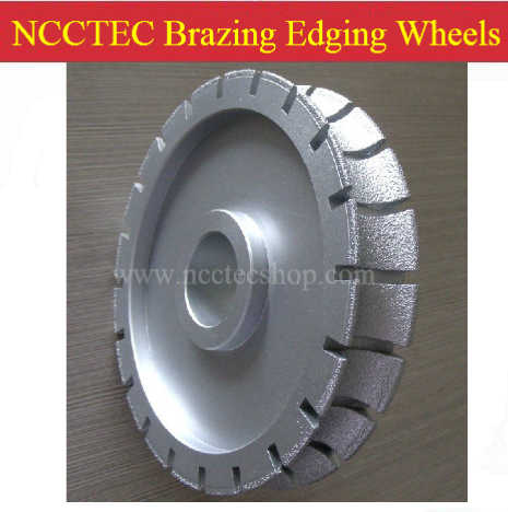 5.6'' Brazing edge grinding wheels | 140mm Edging abrasive disc | 20mm thick FREE shipping