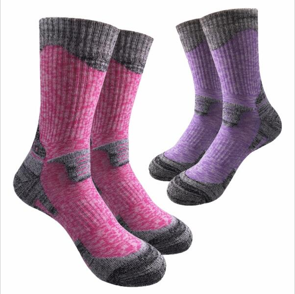 Women&Men High Quality Brand Cotton Socks Unisex Winter Thermal Warm Socks Women Crew Thick Towel Socks(2Pairs)