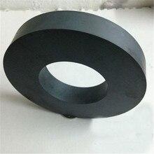 Сион 1 шт. dia80x15 мм hole40mm ферритовые кольца магнит Y30 круглый магнит ферритовый 80*15-40 мм extreme рабочая температура 250 Цельсия