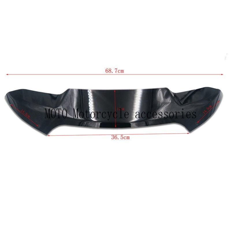 "Здесь можно купить   Motorbike wind deflector 4"" For Double light shark heads Front windshield For Harley Rode Glide Models 2015 2016 2017 57400310 Автомобили и Мотоциклы"