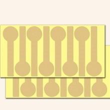 40 шт./лот Винтаж пустой длинные оформление «леденец» Стикеры из крафтовой бумаги для изделия ручной работы выпечка в подарок печать, наклейка, ярлык