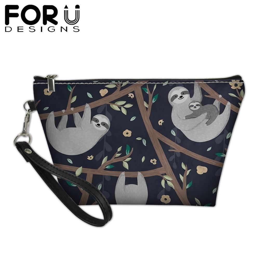 2cd0d6a634e9 FORUDESIGNS 3D Denim Animal Cat Pattern Girls Cosmetic Bags Cute Dog ...