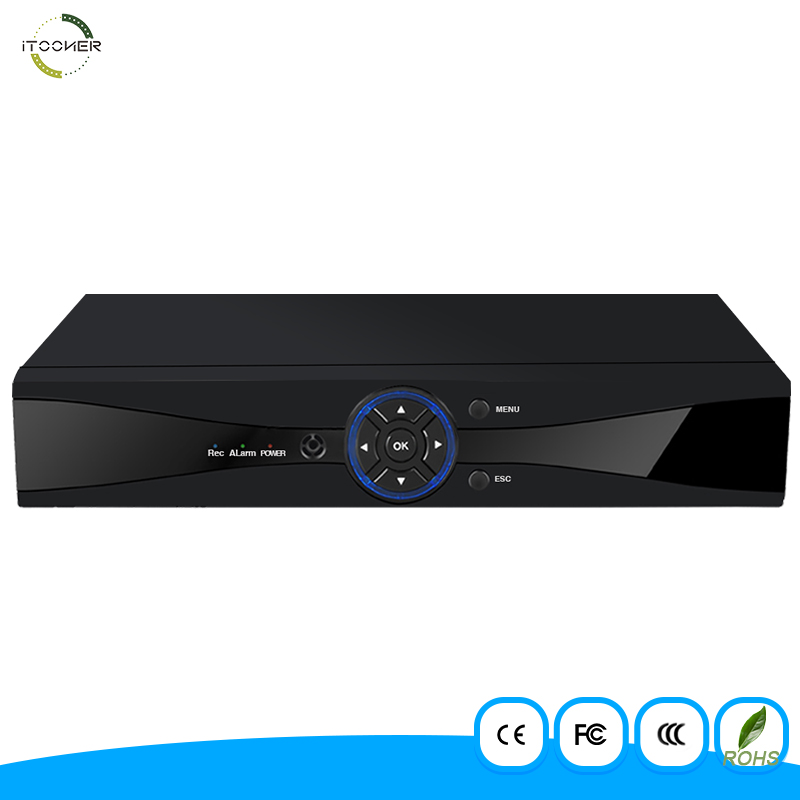 8 Channel AHD DVR AHDM 1080P Security CCTV DVR 8CH Mini Hybrid HDMI DVR Support Analog/AHD Camera 6 in 1 recorder Security Syste