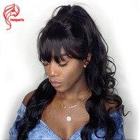 Hesperis130 Denisty Dentelle Avant de Cheveux Humains Perruques Vague de Corps Avant de Lacet perruques Avec Bébé Cheveux Remy Sans Colle Pré Cueilli Avant Dentelle Perruque