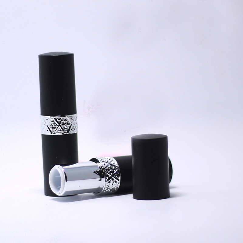 10/20/50pcs 12.1mm Round Black DIY Lisptick Tube Empty Makeup Lip Balm Container Refillable Package Free shipping Cosmetic Tool цена